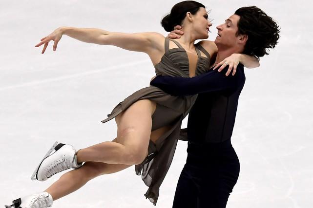 Tessa Virtue et Scott Moir ontinscrit un record... (AFP)