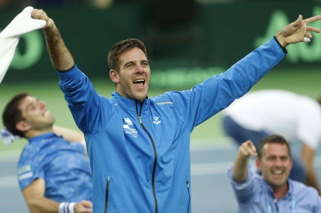 L'Argentine était la seule grande nation du tennis... (AP, Darko Bandic)