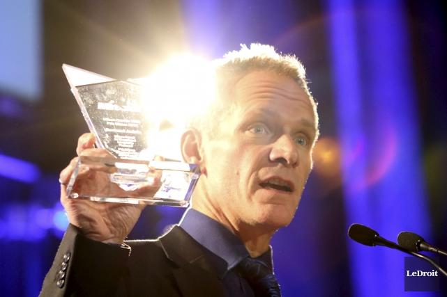 Bertrand Jodoin a remporté le prix Mitacs le... (Patrick Woodbury, Le Droit)