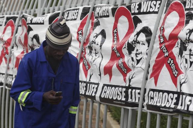Il s'agira de l'essai cliniquepour un vaccin contre... (AP, Denis Farrell)