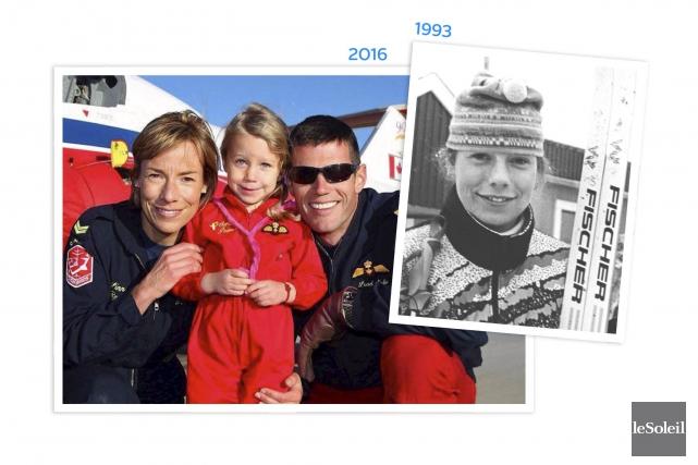 L'ancienne membre de l'équipe nationale de biathlon, Linn... (Infographie Le Soleil)