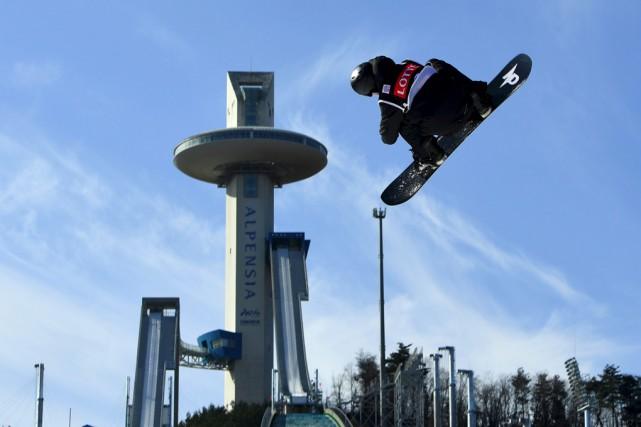 Maxence Parrot, champion du Big Air de la... (AFP)