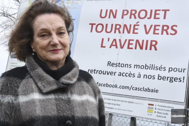 Aline Lavoie a été nommée présidente du Comité... (Photo Le Quotidien, Michel Tremblay)
