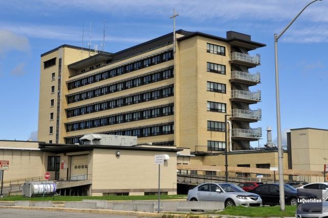 L'hôpital de Jonquière est l'hôpital de la région... (Archives Le Quotidien, Rocket Lavoie)