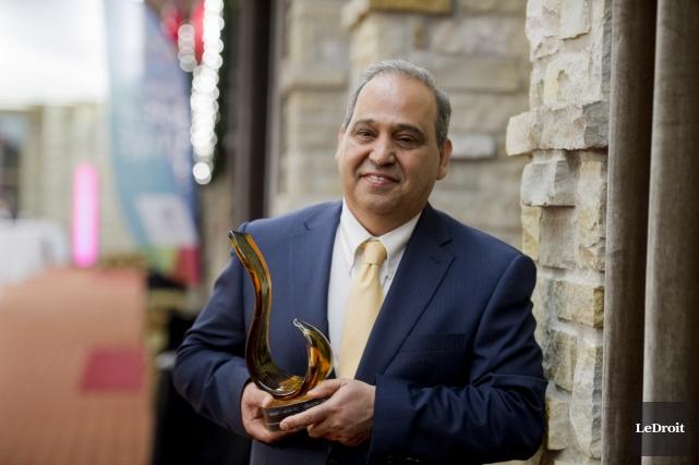 Nader Dormani est la Personnalité de l'année du... (Martin Roy, Le Droit)