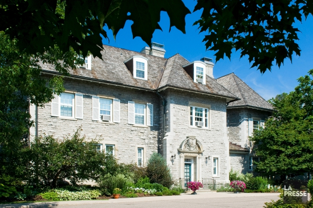 Le 24 Sussex Drive, résidence officielle des premiers... (Archives La Presse)