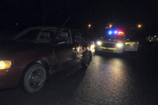 L'accident a eu lieu un peu avant 21h,... (Collaboration spéciale, Éric Beaupré)