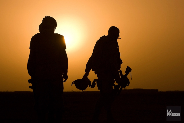 Environ 59% des victimes dans l'armée canadienne n'ont... (Martin Tremblay, archives La Presse)