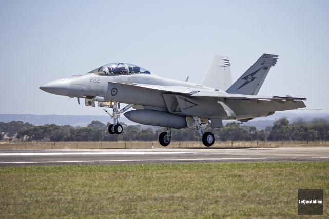 Les F-18 Super Hornet que veut acquérir le... (Archives Le Quotidien)