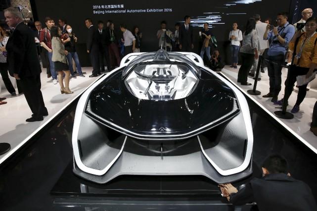 Peut-être que la voiture électrique de demain aura... (photo : REUTERS)