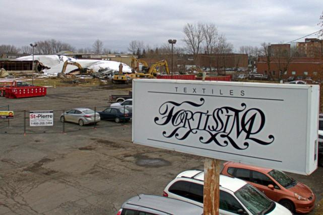 Les propriétaires de l'ancienne usine de Fortissimo de Drummondville ont amorcé... (Photo collaboration spéciale Éric Beaupré)