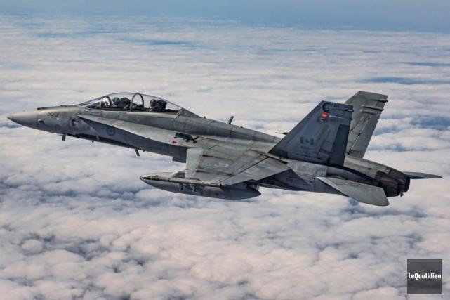 CF-18... (Archives Le Quotidien)