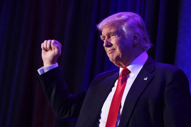 Donald Trump est le premier républicain à avoir... (photo SAUL LOEB, archives AFP)