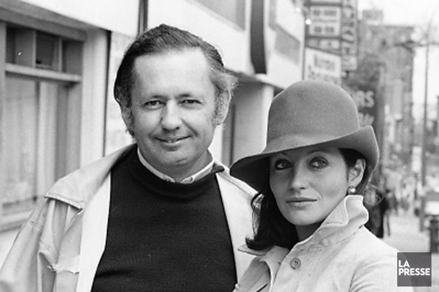 Jean Salvy et Louise Marleau en avril 1976.... (PHOTO MICHEL GRAVEL, archives LA PRESSE)