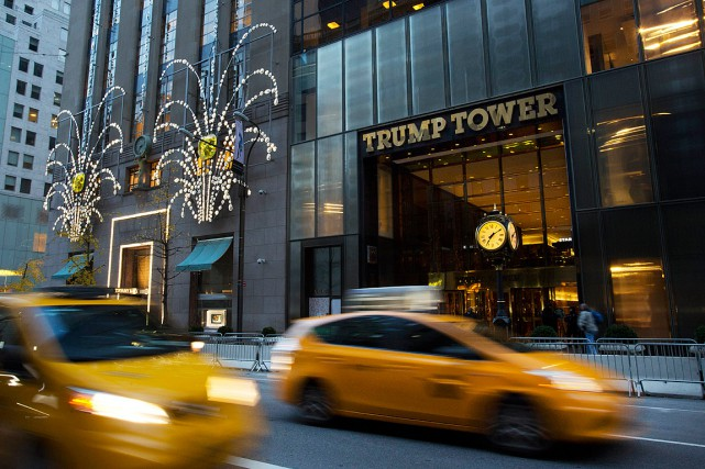 La Trump Tower à New York... (AP)