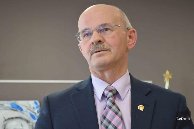Le président de la Fédération québécoise des municipalités... (Benoit Sabourin, Archives Le Droit)