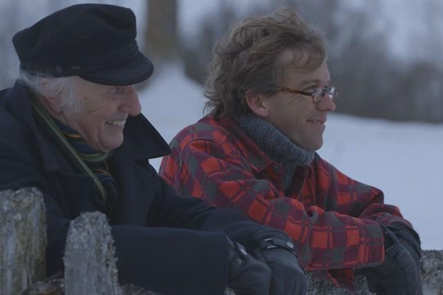 La rencontre de Gilles Vigneault avec Fred Pellerin...