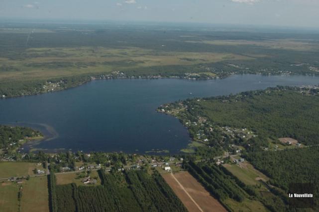 Le lac à la Tortue.... (Sylvain Mayer, Le Nouvelliste)