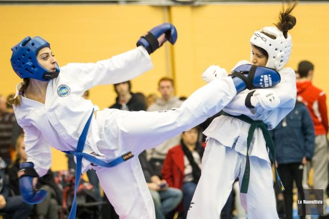 Quelque 375 athlètes ont participé au championnat.... (Olivier Croteau, Le Nouvelliste)