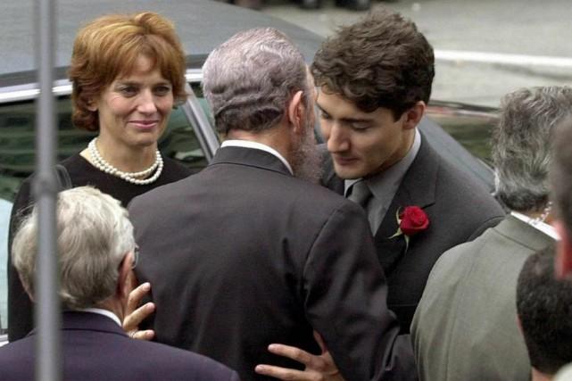 Lors des funérailles de Pierre Elliott Trudeau, le... (PHOTO JEFF KOWALSKY, ARCHIVES AGENCE FRANCE-PRESSE)