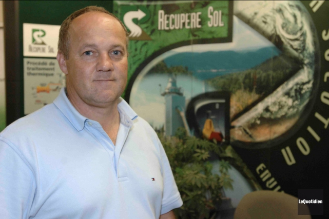 Le président de l'entreprise de décontamination Récupère Sol,... (Archives Le Quotidien)
