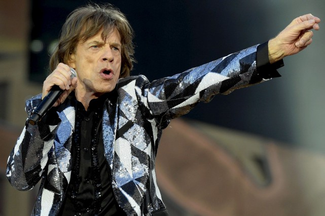 Mick Jagger... (Associated Press)
