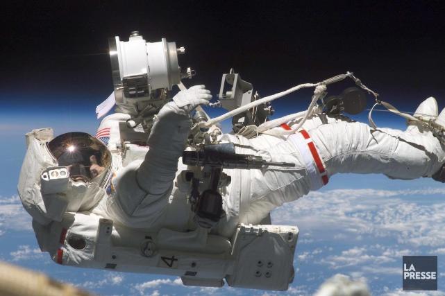 Les astronautes qui séjournent dans l'espace sont susceptibles... (AFP)