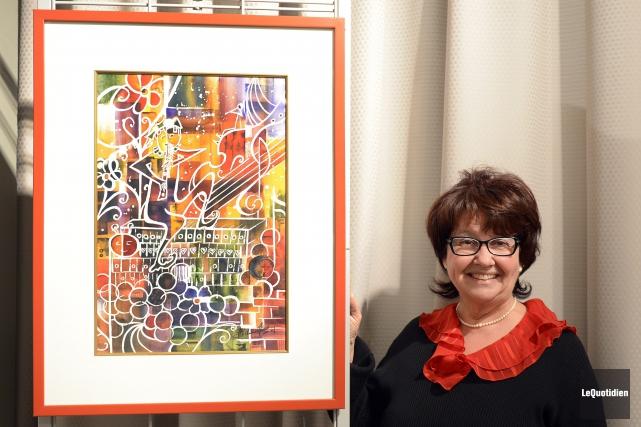 La présidente de La Maestria, Micheline Hamel, souhaite... (Photo Le Quotidien, Jeannot Lévesque)