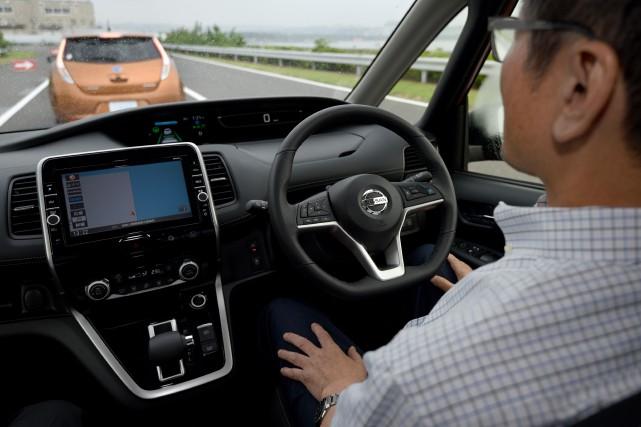 Selon les balises du projet pilote, un conducteur... (AFP)