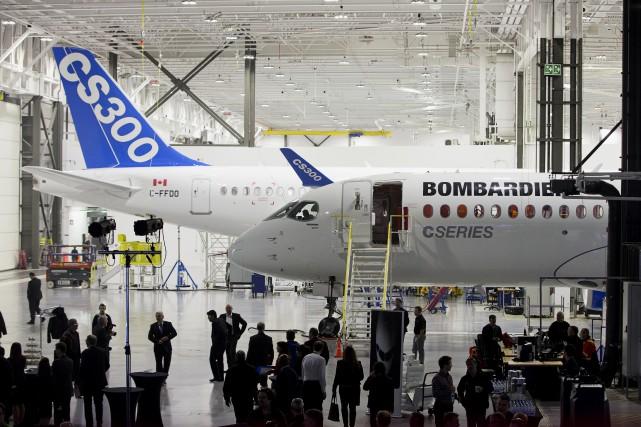 Jusqu'à présent, Bombardier a reçu plus de 350... (La Presse)