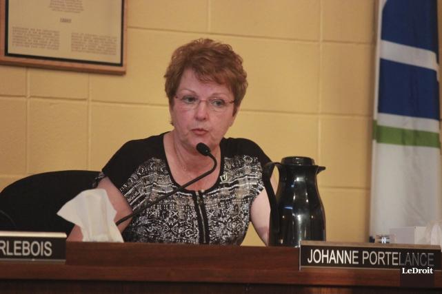 La conseillère municipale Johanne Portelance estime que le... (Martin Brunette, Le Droit)