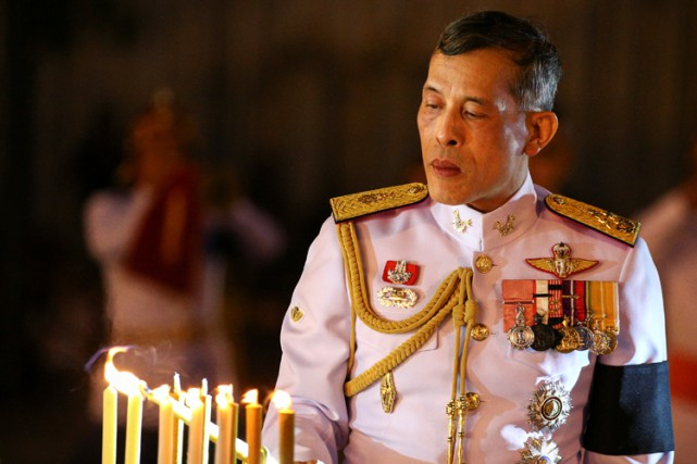 Maha Vajiralongkorn... (PHOTO REUTERS)