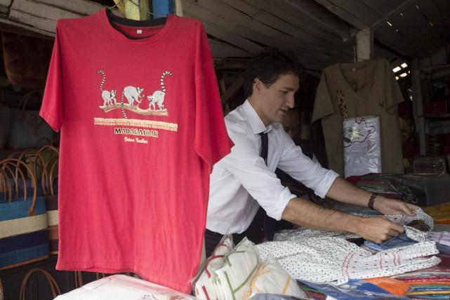 Justin Trudeaun'était pas aux Communes pour répondre aux... (La Presse canadienne, Adrian Wyld)