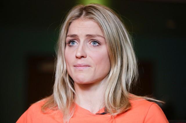 La fondeuse norvégienne Therese Johauga été contrôlée positive... (Photo Berit Roald, AFP)