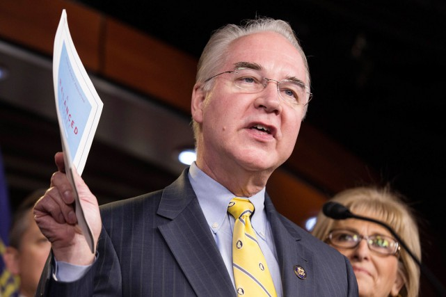 Le représentant de la Géorgie Tom Price a... (photo Joshua Roberts, archives REUTERS)