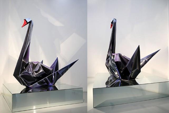 Le «cygne noir» est le nom donné par... (Photo Guo Jian, AFP)