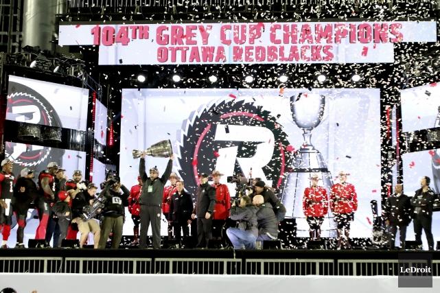 Le Rouge et Noir d'Ottawa a remporté la... (Photo Patrick Woodbury, Le Droit)