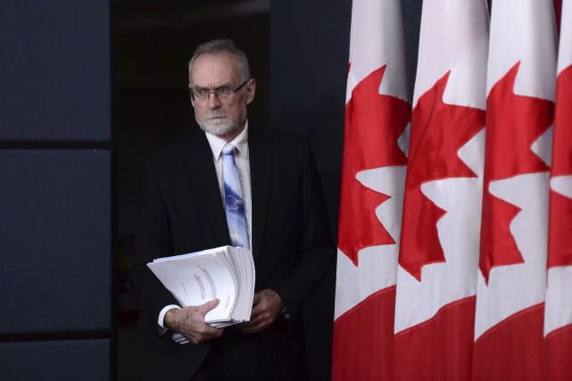 Le vérificateur général du Canada Michael Ferguson a... (La Presse Canadienne, Sean Kilpatrick)