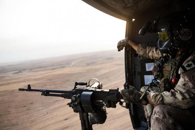 «Nos forces armées ont su maintenir jusqu'à présent... (PHOTO EDOUARD PLANTE-FRéCHETTE, la presse)