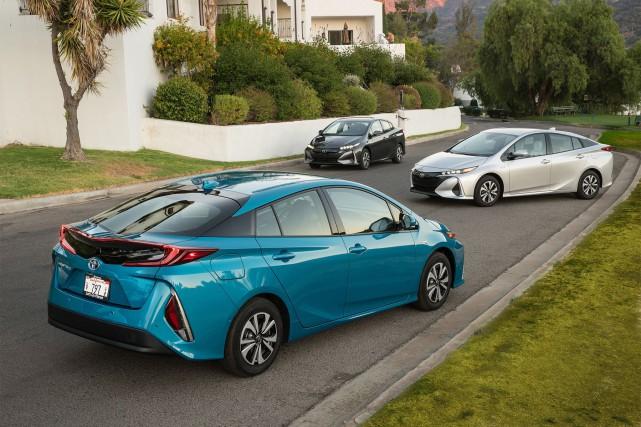 La Toyota Prius Prime 2017... (toutes les photo : Toyota)