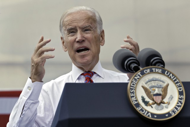 Le vice-président des États-Unis, Joe Biden.... (Photo Chris O'Meara, archives AP)