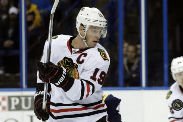 Jonathan Toews... (Photo Jeff Roberson, archives AP)