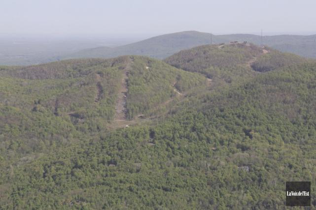 Une superficie de 150 hectares dans le massif... (archives La Voix de l'Est)