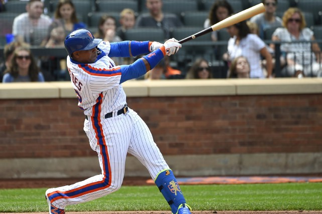 L'an dernier, Yoenis Cespedes a maintenu une moyenne... (archives Associated Press)