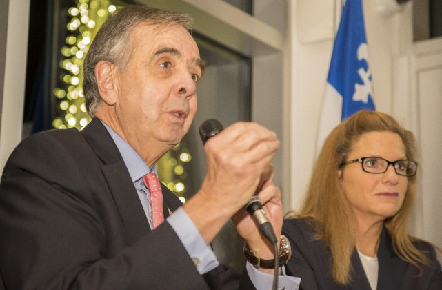 Le délégué général du Québec à New York... (Spectre Média, Marie-Lou Béland)