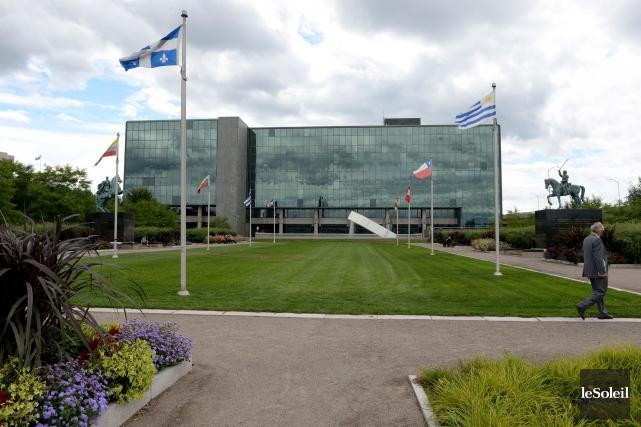 Au palais de justice de Québec, les témoins... (Photothèque Le Soleil, Erick Labbé)