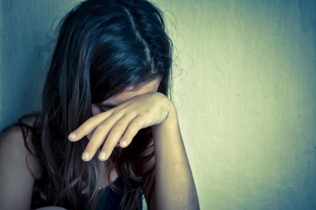 Les dénonciations de femmes victimes de violence à... (Archives, La Tribune)