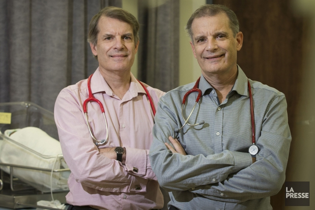 Les Drs Jean-Luc et Jean-Pierre Doray ont choisi... (La Presse, Ivanoh Demers)