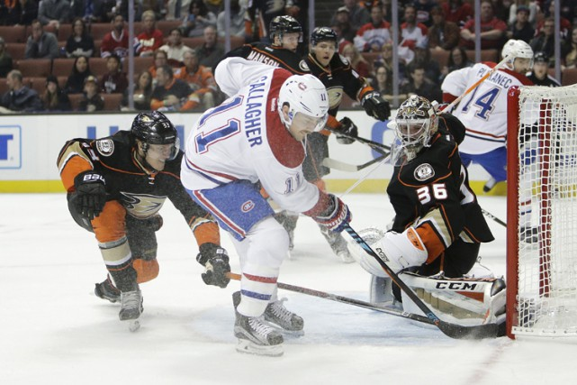 Relisez le clavardage du match entre le Canadien et les Ducks d'Anaheim avec... (PHOTO AP)