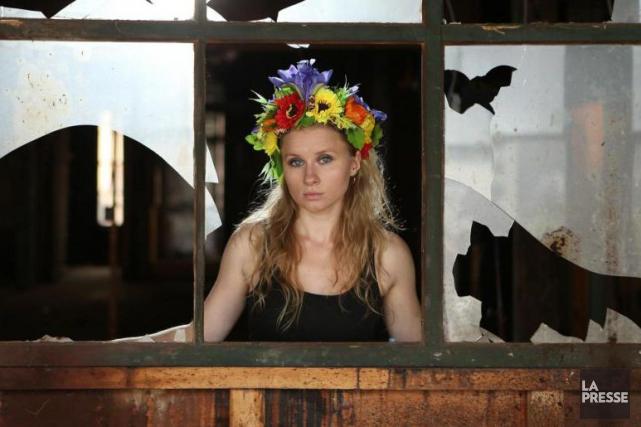 L'activiste Kseniya Chernyshova dément formellement s'être livrée à... (PHOTO MARTIN CHAMBERLAND, ARCHIVES LA PRESSE)